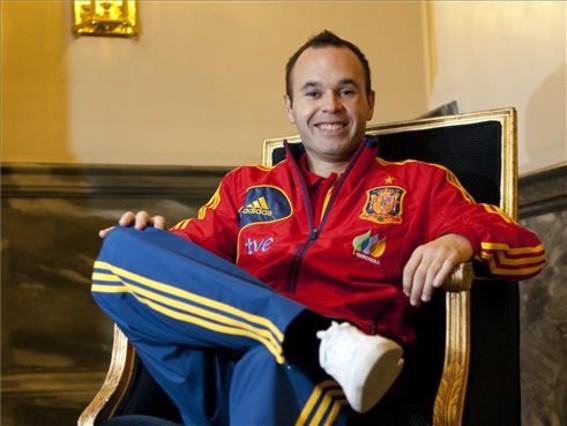 Wywiad z Andrésem Iniestą