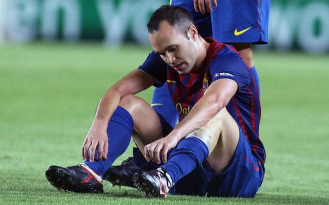 Iniesta nie zagra w Mediolanie!