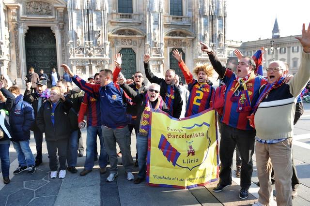 Barcelona nie jest sama w Mediolanie