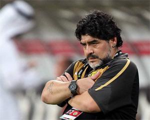 Maradona w Zjednoczonych Emiratach Arabskich