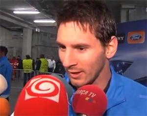 Messi: Chcę pomagać drużynie