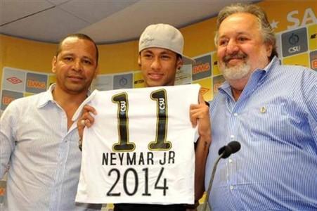 De Oliveira: Rosell chce Neymara w 2014