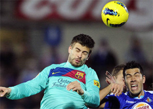 Piqué: Na Bernabéu pojedziemy po zwycięstwo