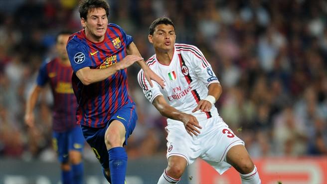 Tło meczu AC Milan – FC Barcelona