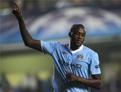 Yaya Touré, the king of the City