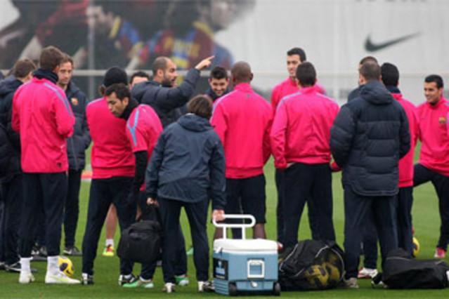 Pierwszy trening przed meczem z Bilbao
