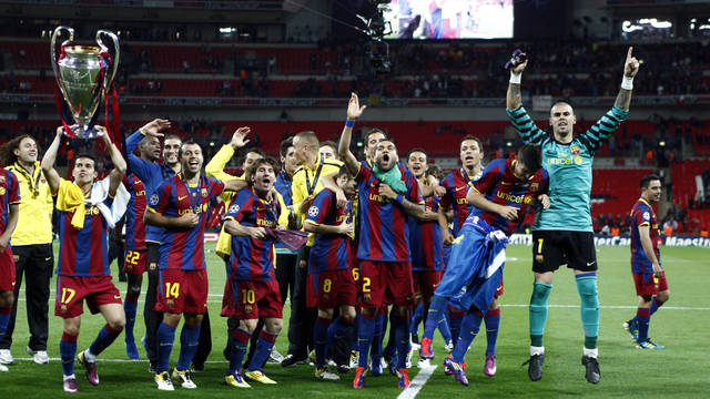 Siedmiu Barcelonistów powróci na Wembley
