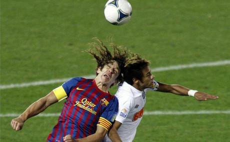 Puyol: Neymar nas postraszył, ale nie wytrzymał tempa