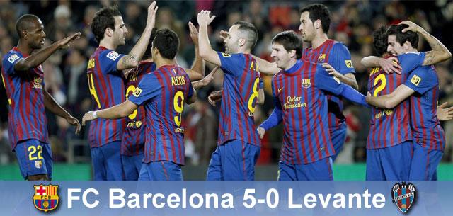 Kolejna Manita do kolekcji: Barça – Levante 5:0