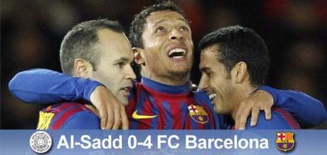Zwycięstwo okupione kontuzjami, Al-Sadd – FC Barcelona 0-4