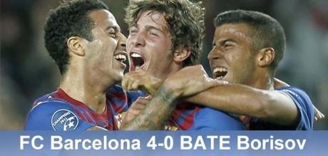 Młodzież nie zawiodła: FC Barcelona 4 – 0 BATE Borysów