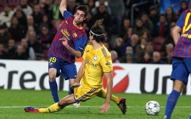 Oceny za mecz z Levante i BATE Borysów
