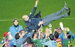Guardiola, szczęśliwszy niż kiedykolwiek