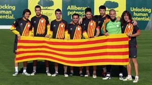 11 z Barcelony do kadry Katalonii