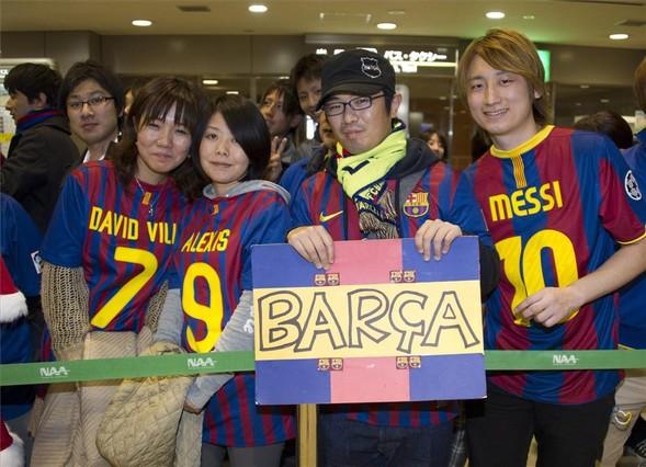 Barça nadal budzi pasję w Japonii