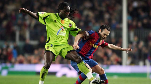 Barça zwycięska z Levante na Camp Nou