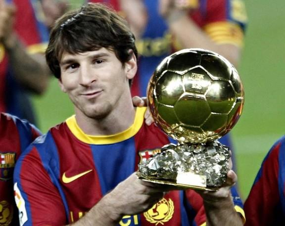 Złota Piłka 2011: Lionel Messi