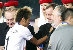 Rosell obserwował Neymara
