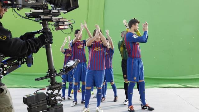 Estrella Damm przygotowuje spot z piłkarzami
