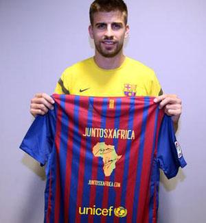 """Barça uczestniczy w projekcie """"Razem dla Afryki"""""""