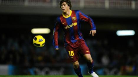 Roberto chce dalej rozwijać się w FC Barcelonie