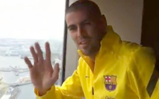 Valdés prezentuje hotel w Yokohamie