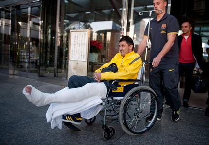 Villa wraca do Barcelony