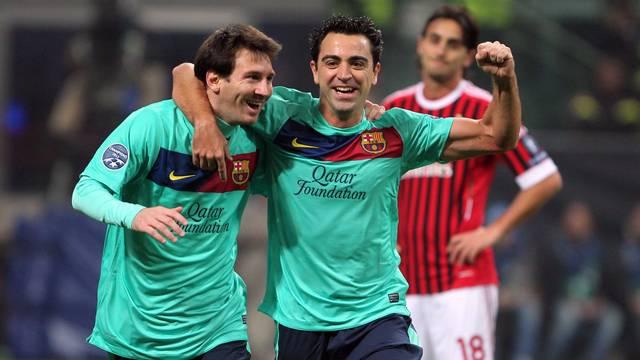 Messi i Xavi w finałowej trójce Złotej Piłki