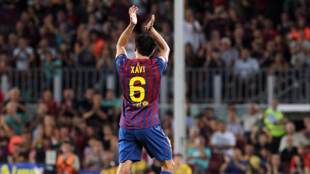 Xavi z 19 tytułami w Barcelonie
