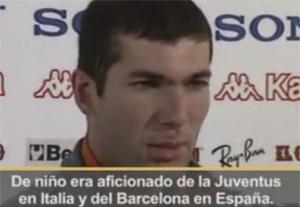 Zidane zamiłowany w Barçy