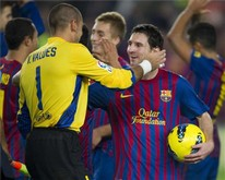 Valdés i Messi nie zagrają z Osasuną!