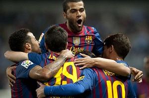 Málaga – FC Barcelona (bramki)