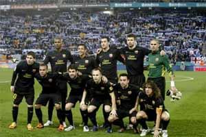 Barça najlepsza w 2011 roku