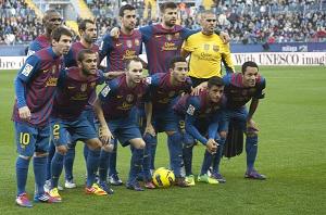 Málaga – FC Barcelona (fotogaleria)
