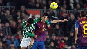 Xavi zagrał swój czterysetny mecz w lidze