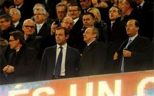Znane osobistości na Camp Nou