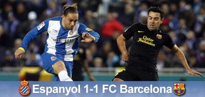 Remisowe derby Katalonii: Espanyol 1 – 1 FC Barcelona