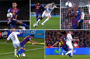 Real reklamował 3 karne, Barcelona 2