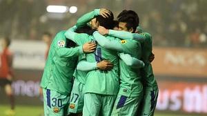 Osasuna – FC Barcelona (bramki)