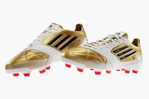 Leo Messi i jego nowe buty
