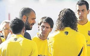 Wiadomość Guardioli w szatni: W 2012…