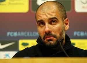 Pep Guardiola przed derbami Barcelony