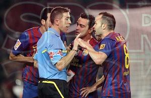 Barcelona odwołała się od żółtej kartki Iniesty