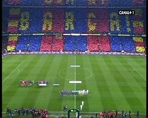 Spektakularna mozaika na Camp Nou
