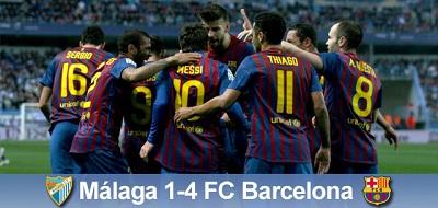 W pogoni za Realem: Málaga 1 – 4 FC Barcelona