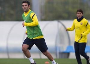 Rafa Márquez trenował z Barçą B