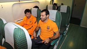 Piłkarze już w drodze do Castelló
