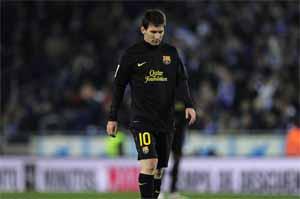 Messi nadal bez gola na Cornellà