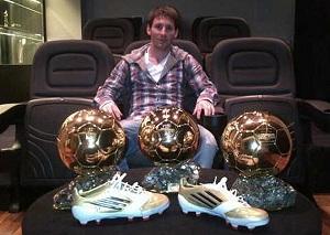 Messi najlepszym strzelcem na świecie w 2012 roku