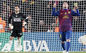 Messi i Lewandowski w jedenastce LӃquipe